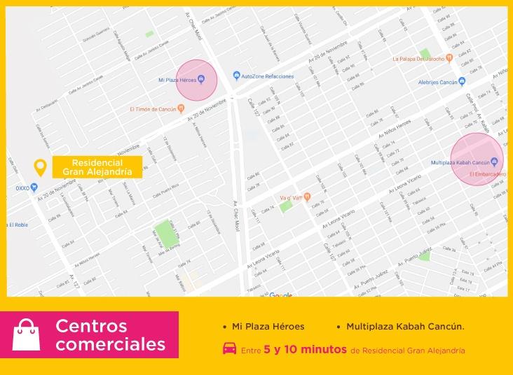Gran-Alejandria-casas-nuevas-en-cancun-centros-comerciales