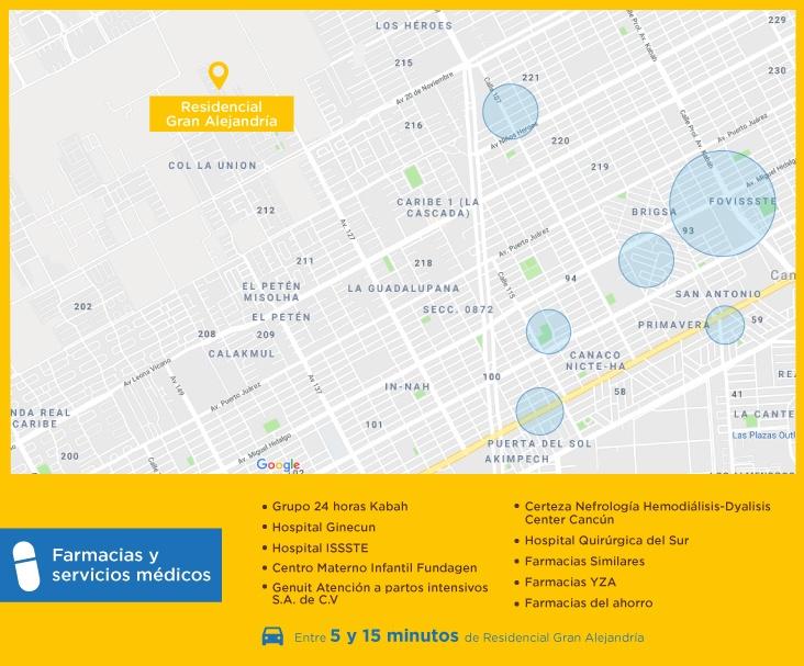 Gran-Alejandria-casas-nuevas-en-cancun-farmacias-y-servicios-medicos-1