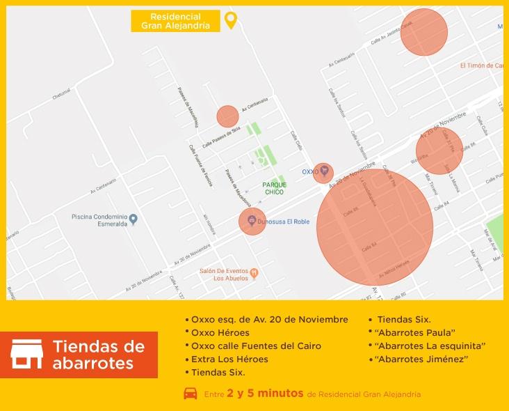 Gran-Alejandria-casas-nuevas-en-cancun-tiendas-de-abarrotes