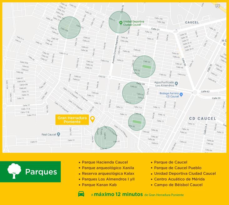 Gran Herradura Poniente Parques  casas nuevas en venta en merida
