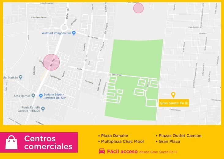 Gran-Santa-Fe-III-casas-nuevas-en-cancun-centros-comerciales