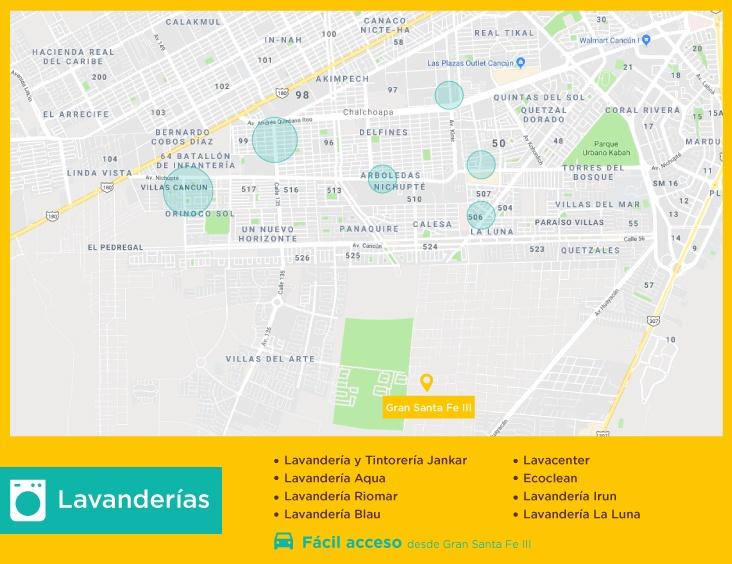 Gran-Santa-Fe-III-casas-nuevas-en-cancun-lavanderias
