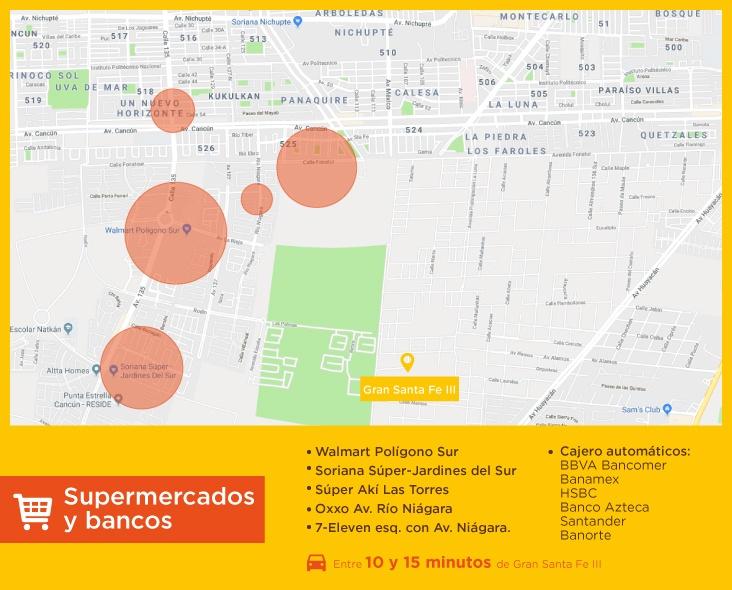 Gran-Santa-Fe-III-casas-nuevas-en-cancun-supermercados-bancos