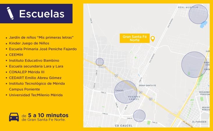 Mapas-servicio-Gran-Santa-Fe-Norte-escuelas-casas-nuevas-en-Merida