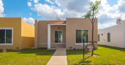 Opciones de casas nuevas en Mérida desde $900,000 MXN