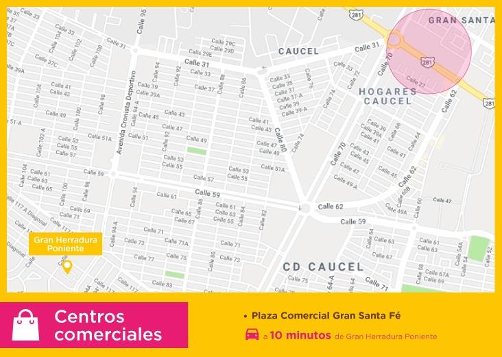 Puntos-de-interes-gran-herradura-centros-comerciales-casas-nuevas-en-merida