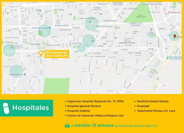 Rinconada de Gran Santa Fe Hospitales casas nuevas en venta cancun
