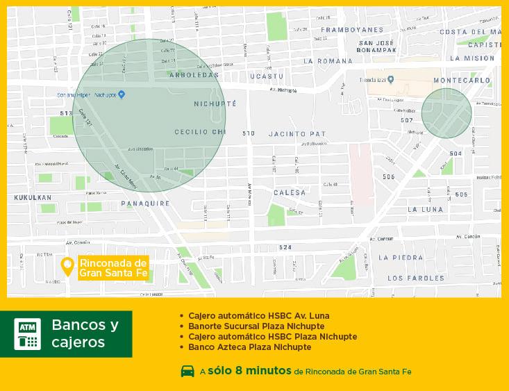 Rinconada de Gran Santa Fe bancos casas nuevas en venta cancun