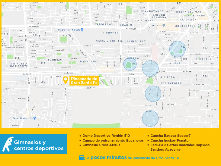 Rinconada de Gran Santa Fe gimnasios centros deportivos casas nuevas en venta cancun