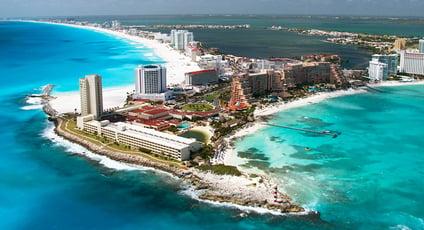 Gente que vive en Cancún