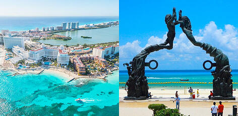 Cancún o Playa del Carmen para vivir
