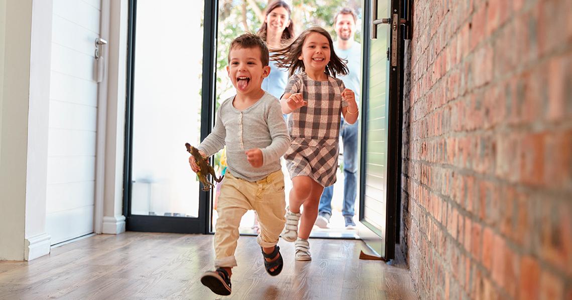 Casa perfecta para tu familia